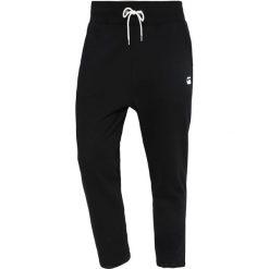 GStar RODIS CROPPED PANT Spodnie treningowe dark black. Czarne spodnie dresowe męskie G-Star, z bawełny. Za 369,00 zł.