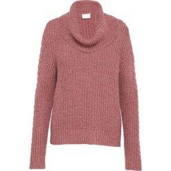 """Odzież damska: Sweter """"Christana"""" w kolorze jasnoróżowym"""