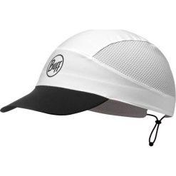 Czapki męskie: Buff Czapka Buff® Pack Run Cap R-Solid biało czarna (BH113702.000.10.00)