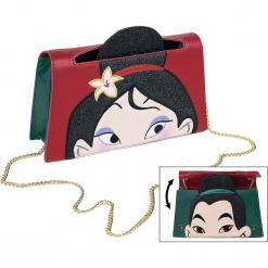 Mulan Danielle Nicole - Mulan und Ping Torebka - Handbag czerwony/zielony. Czerwone torebki klasyczne damskie Mulan, z aplikacjami, z aplikacjami. Za 324,90 zł.