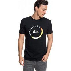 Quiksilver T-Shirt Męski Slabsessionss M Tees kvj0 Czarny S. Czarne t-shirty męskie z nadrukiem Quiksilver, m, z bawełny. W wyprzedaży za 89,00 zł.