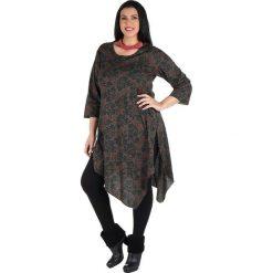 Odzież damska: Koszulka w kolorze brązowo-czarnym