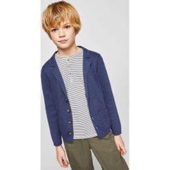 Swetry chłopięce: Mango Kids – Kardigan dziecięcy Kana 110-164 cm