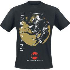T-shirty męskie z nadrukiem: Batman Ninja Movie T-Shirt czarny