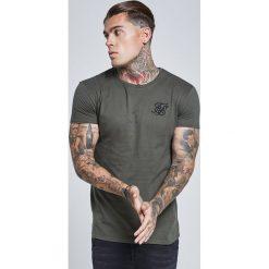 T-shirty męskie z nadrukiem: SIKSILK EXS SIKSILK  Tshirt z nadrukiem khaki