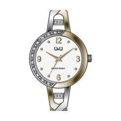 Zegarki damskie: Q&Q F643-404 - Zobacz także Książki, muzyka, multimedia, zabawki, zegarki i wiele więcej