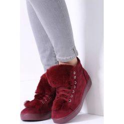 Bordowe Sneakersy Taryn. Czerwone sneakersy damskie marki vices, z materiału. Za 69,99 zł.