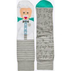 Nanushki - Skarpety. Białe skarpetki męskie marki Nanushki, z bawełny. Za 25,90 zł.