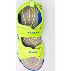 Geox - Sandały dziecięce. Białe sandały męskie skórzane marki Geox. W wyprzedaży za 229,90 zł.