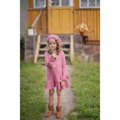 Sukienka RASPBERRY. Czerwone sukienki dziewczęce z falbanami marki Pakamera, z bawełny. Za 159,00 zł.