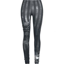 Rock Rebel by EMP Built For Comfort Legginsy czarny/szary. Czarne legginsy we wzory Rock Rebel by EMP, xs, z materiału. Za 121,90 zł.