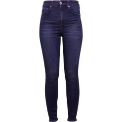 Rurki damskie: 7 for all mankind AUBREY  Jeans Skinny Fit blue denim