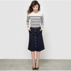 Spódniczki: Dżinsowa spódnica midi