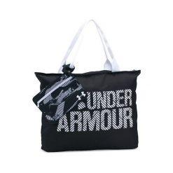 Torby podróżne: Under Armour Torba sportowa Big Wordmark Tote 2.0 czarno-biała (1292112-001-UNI)