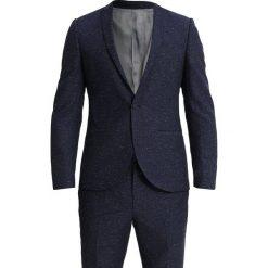 Viggo STUTTGART SUIT SLIM FIT Garnitur blue. Niebieskie garnitury Viggo, z jedwabiu. Za 799,00 zł.