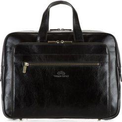 Torba na laptopa 21-3-314-1. Czarne torby na laptopa marki Wittchen, w paski. Za 849,00 zł.