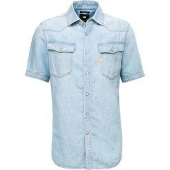 GStar 3301 STRAIGHT SHIRT Koszula ultra light aged. Niebieskie koszule męskie marki G-Star, m, z bawełny. Za 469,00 zł.