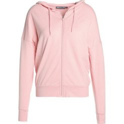 Bluzy rozpinane damskie: Only Play ONPIRSA HOOD ZIP Bluza rozpinana silver pink