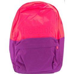 Plecak unisex różowo-fioletowy (AB1235). Czerwone plecaki męskie Reebok, sportowe. Za 79,59 zł.