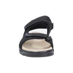 Sandały Casu  Czarne sandały na rzepy  GT136009. Czarne sandały męskie marki Casu, na rzepy. Za 59,99 zł.