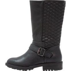 Dorothy Perkins TIFFANY Kowbojki i Buty motocyklowe black. Czarne buty zimowe damskie marki Dorothy Perkins, z materiału. W wyprzedaży za 161,85 zł.