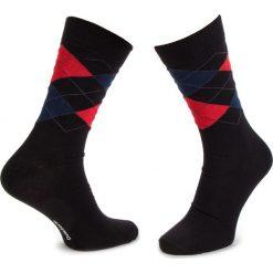 Skarpety Wysokie Męskie DOTS SOCKS - DTS-SX-232-X Czarny Kolorowy. Czerwone skarpetki męskie marki Happy Socks, z bawełny. Za 19,90 zł.