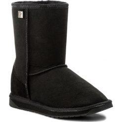 Buty EMU AUSTRALIA - Platinum Stinger Lo WP10002 Black. Czarne buty zimowe damskie marki EMU Australia, z gumy. Za 849,00 zł.