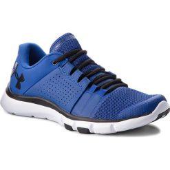 Buty UNDER ARMOUR - Ua Strive 7 Nm 3020750-401 Blu. Niebieskie buty do biegania męskie Under Armour, z materiału. W wyprzedaży za 209,00 zł.