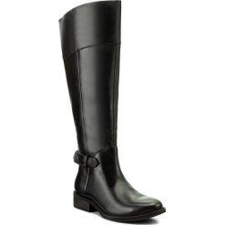 Kozaki VAGABOND - Cary 4420-001-20 Black. Czarne buty zimowe damskie marki Vagabond, z materiału, na obcasie. W wyprzedaży za 439,00 zł.