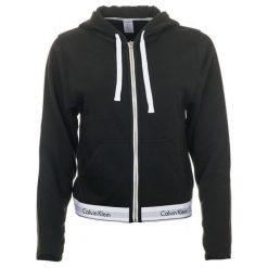 Calvin Klein Bluza Damska S Czarny. Czarne bluzy rozpinane damskie Calvin Klein, s, z gumy. Za 309,00 zł.