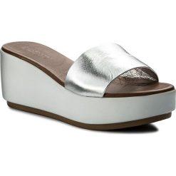 Chodaki damskie: Klapki INUOVO - 8695  Silver