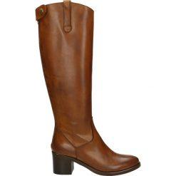 Kozaki - 2597 NAT CUOI. Czarne buty zimowe damskie marki Venezia, ze skóry. Za 499,00 zł.