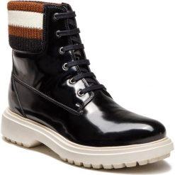 Trapery GEOX - A Asheely B D847AB 000BC C9999 Black. Czarne buty zimowe damskie Geox, z materiału. Za 599,00 zł.