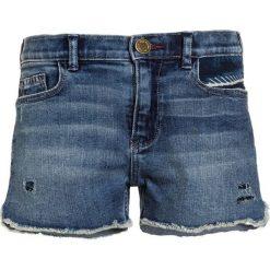 Scotch R'Belle HIGH WAIST AMSTERDAM REPAIR Szorty jeansowe blue denim. Szare szorty jeansowe damskie marki Mango Kids, z aplikacjami, z podwyższonym stanem. Za 249,00 zł.