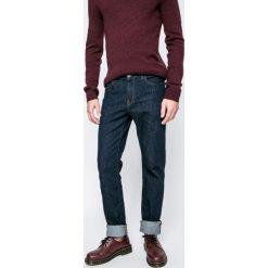 Trussardi Jeans - Jeansy. Niebieskie jeansy męskie z dziurami marki Trussardi Jeans. W wyprzedaży za 239,90 zł.