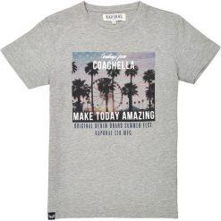 T-shirty chłopięce z krótkim rękawem: T-shirt z okrągłym dekoltem, 10-16 lat