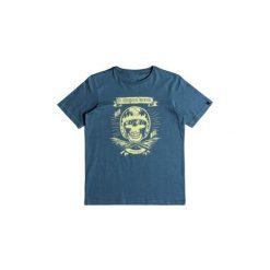 T-shirty z krótkim rękawem Dziecko  Quiksilver  Classic Makau Ola - Camiseta para Chicos. Niebieskie t-shirty chłopięce z krótkim rękawem Quiksilver. Za 83,55 zł.