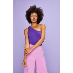 Answear - Top Violet Kiss. Niebieskie topy damskie marki ANSWEAR, l, z dzianiny. W wyprzedaży za 39,90 zł.