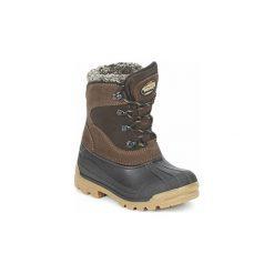 Śniegowce Dziecko Meindl  SÖLDEN JUNIOR. Czerwone buty zimowe chłopięce marki Elefanten, z materiału. Za 311,20 zł.