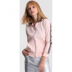 Różowa Bluza Long Ago. Czerwone bluzy rozpinane damskie other, l. Za 69,99 zł.