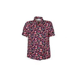 Koszule z krótkim rękawem American Retro  NEOSHIRT. Brązowe koszule nocne i halki American Retro, retro, z krótkim rękawem. Za 471,20 zł.