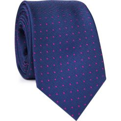 KRAWAT KWGR001746. Różowe krawaty męskie marki Reserved. Za 69,00 zł.