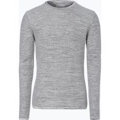 Minimum - Sweter męski – Reiswood 2.0, szary. Szare swetry klasyczne męskie marki TOMMY HILFIGER, l, z bawełny, z okrągłym kołnierzem. Za 249,95 zł.