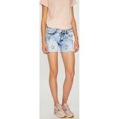 Sublevel - Szorty. Szare szorty jeansowe damskie marki Sublevel, casualowe. W wyprzedaży za 79,90 zł.