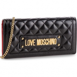 Torebka LOVE MOSCHINO - JC5613PP17LA0000 Nero. Czarne torebki klasyczne damskie Love Moschino, ze skóry ekologicznej. Za 569,00 zł.