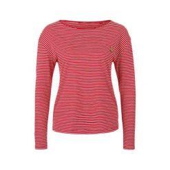 S.Oliver T-Shirt Damski 34 Czerwony. Czerwone t-shirty damskie marki S.Oliver, s, w paski. W wyprzedaży za 59,00 zł.