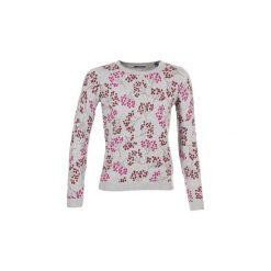 Swetry Gant  BEERY PRINTED CREW. Szare swetry klasyczne damskie GANT, m. Za 599,20 zł.