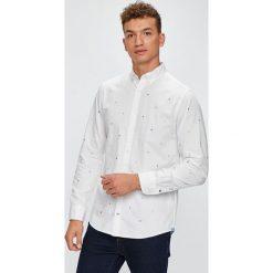 Tommy Hilfiger - Koszula. Szare koszule męskie na spinki TOMMY HILFIGER, m, z bawełny, button down, z długim rękawem. W wyprzedaży za 349,90 zł.