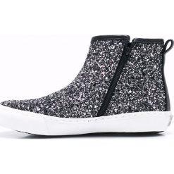 Gioseppo - Trampki dziecięce Burning. Czarne buty sportowe dziewczęce Gioseppo, z gumy. W wyprzedaży za 99,90 zł.