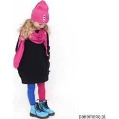 TUNIKA - czarna. Czarne sukienki dziewczęce z falbanami Pakamera, z bawełny. Za 89,00 zł.